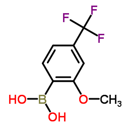 (2-Methoxy-4-(trifluoromethyl)phenyl)boronic acid